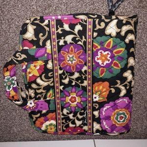 Vera Bradley hanging travel bag
